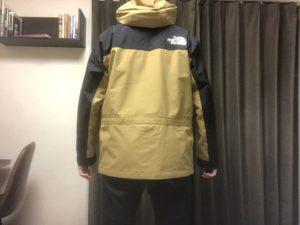 マウンテンライトジャケットSサイズ