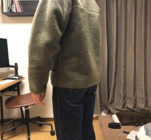 レトロx着丈の長さ